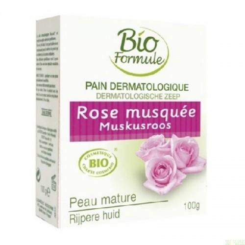 pain dermatologico rosa mosqueta bio formule 100 gr bio