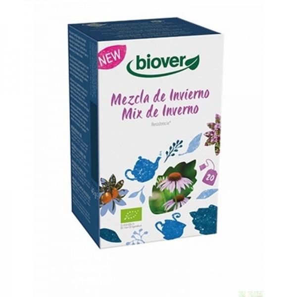 infusion invierno biover 20 bolsitas bio