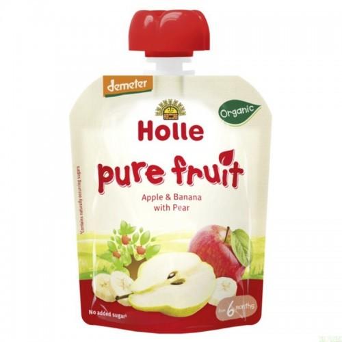 smoothie manzana platano pera holle 90 gr demeter eco