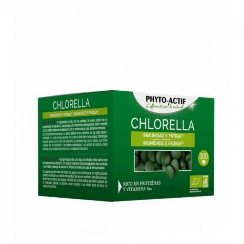 clorella ecocert phitoactif 300 comprimidos bio