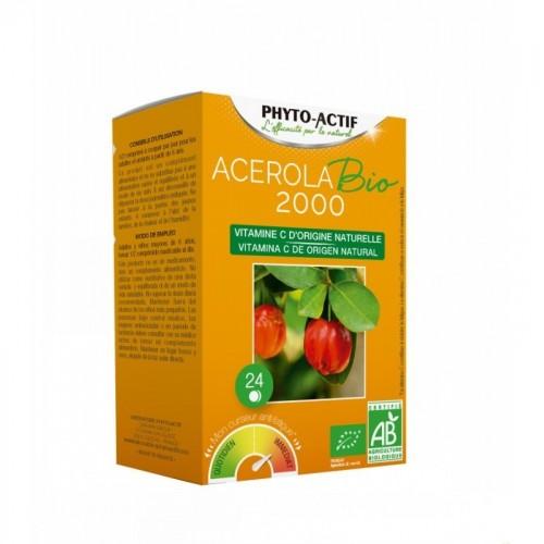 acerola 2000 mg phitoactif 24 comprimidos bio