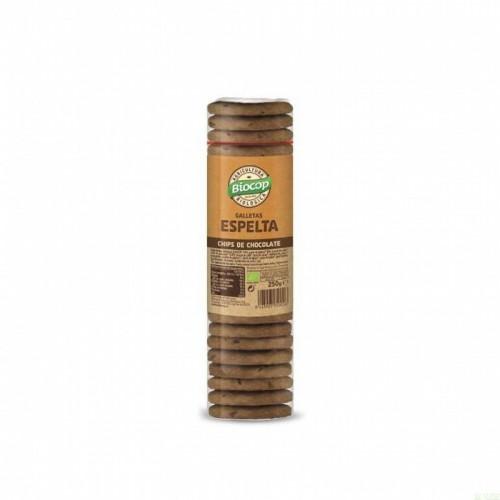 galleta espelta choco biocop 250 gr bio