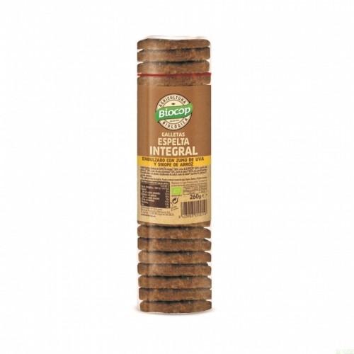 galleta espelta integral biocop 260 gr bio