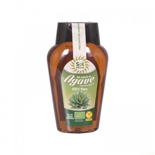 sirope agave sol natural 360 ml bio