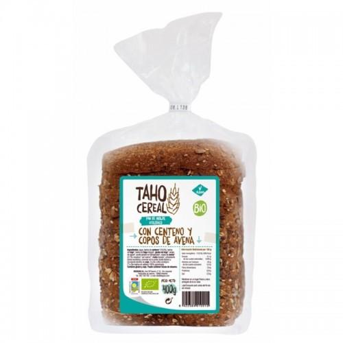 pan molde centeno copos avena taho 400 gr bio