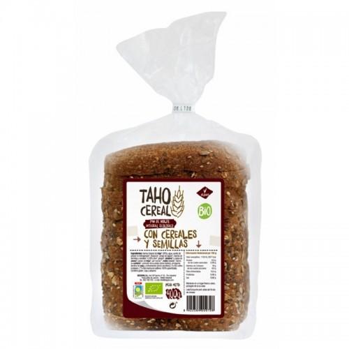 pan molde cereales semillas integral taho 400 gr bio
