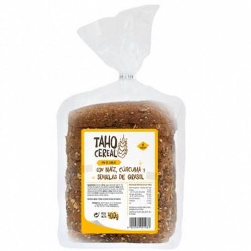 pan molde maiz curcuma pipas integral taho 400 gr bio