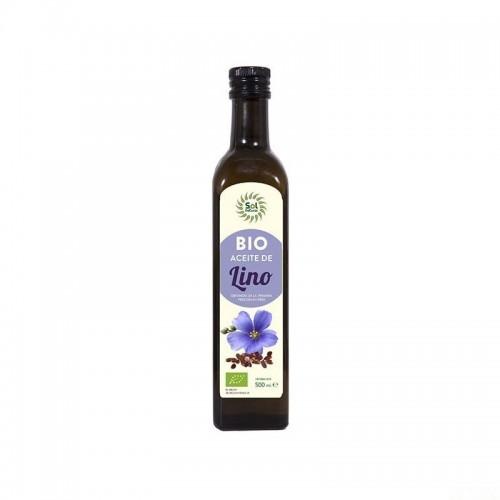 aceite lino sol natural 500 ml bio
