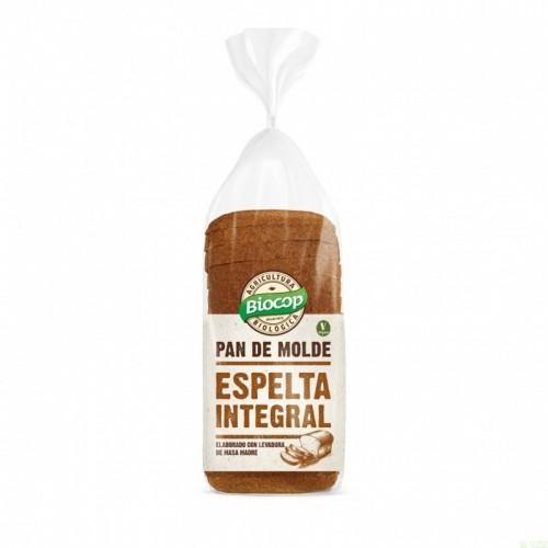 pan molde espelta integral biocop 400 gr bio