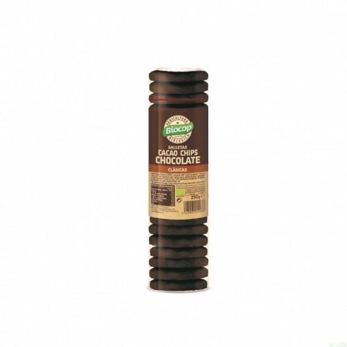 galleta cacao chocolate biocop 250 gr bio