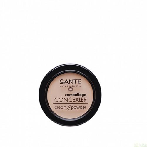 corrector polvo crema mono 02 sand sante