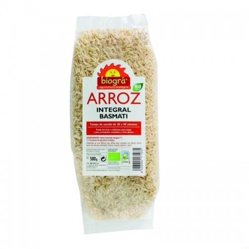 arroz basmati integral biogra