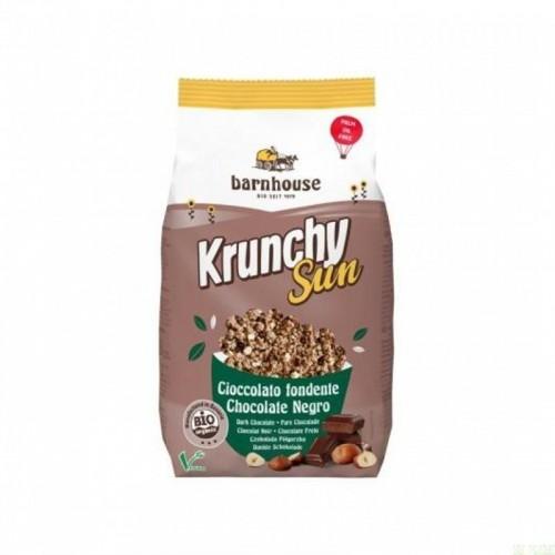 crunchy sun chocolate avellana barnhouse 375 gr
