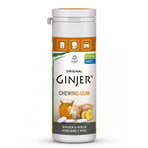 ginger chicles jengibre miel lemon pharma 30 gr