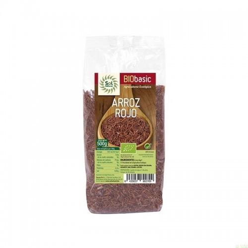 arroz rojo sol natural 500 gr bio