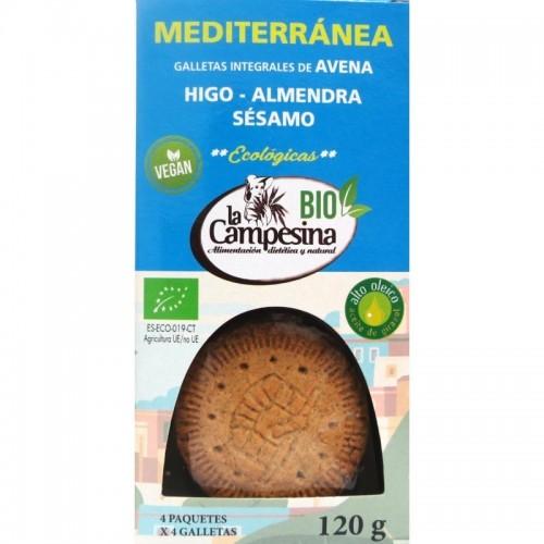 galleta mediterranea campesina 120 gr bio