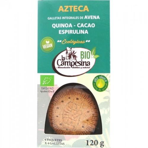 galleta azteca campesina 120 gr bio