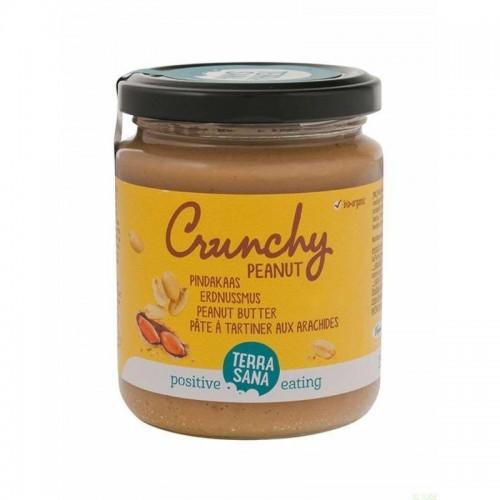 crema cacahuete con trozos terrasana 250 gr bio