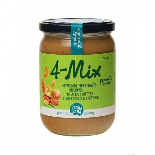 crema frutos secos con cacahuete 4 mix terrasana 500 gr bio