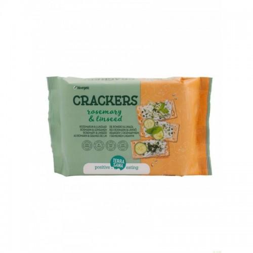 crackers romero linaza terrasana 160 gr bio
