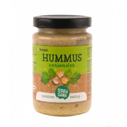 hummus cilantro terrasana 190 gr bio