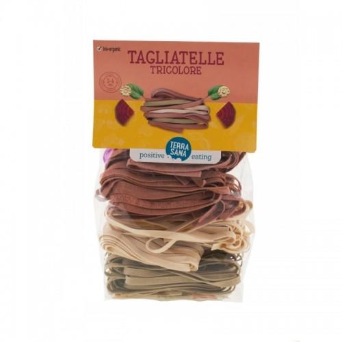 tagliatelle tricolor remolachas espinacas terrasana 250 gr bio