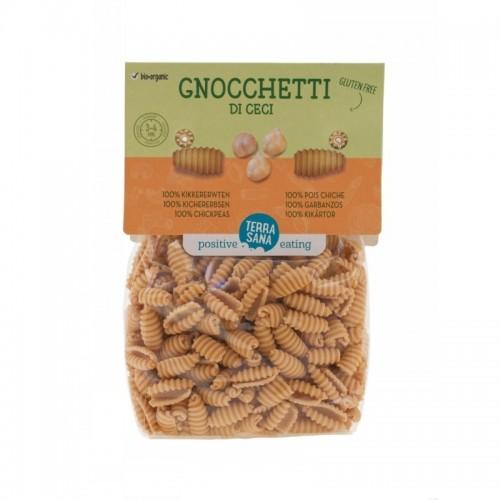 gnocchetti garbanzo 100 sin gluten terrasana 250 gr bio