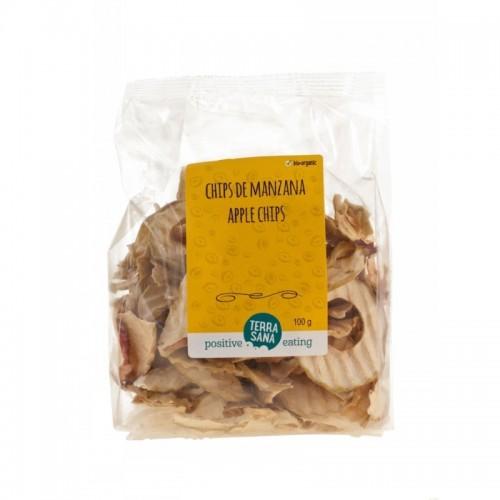 chips manzana terrasana 100 gr bio