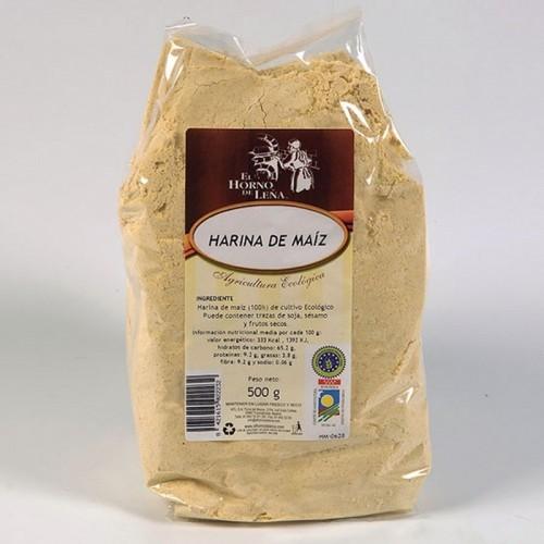 harina maiz horno de leña 500 gr bio