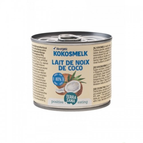 leche coco terrasana 200 gr bio