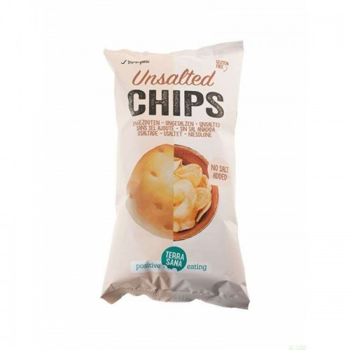 patatas fritas sin sal añadida terrasana 125 gr bio