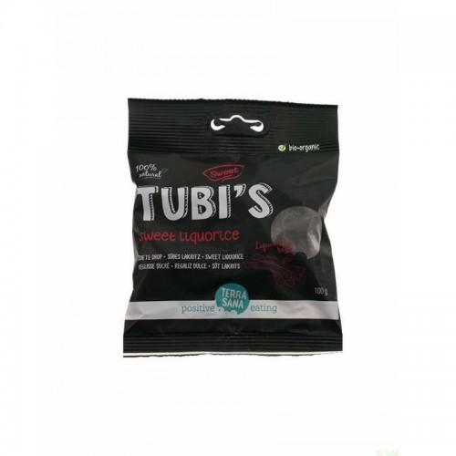 regaliz dulce tubi s terrasana 100 gr bio
