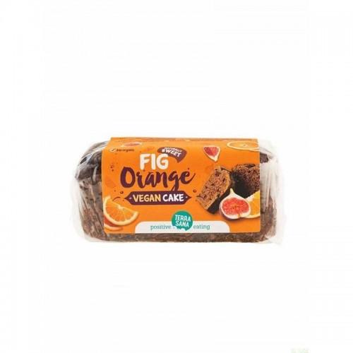 vegan cake higos naranja terrasana 350 gr bio