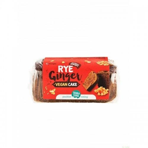 vegan cake centeno jengibre terrasana 350 gr bio