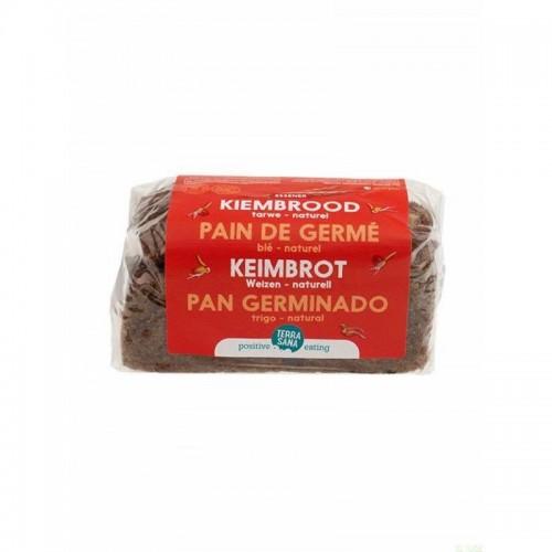 pan germinado trigo terrasana 400 gr bio