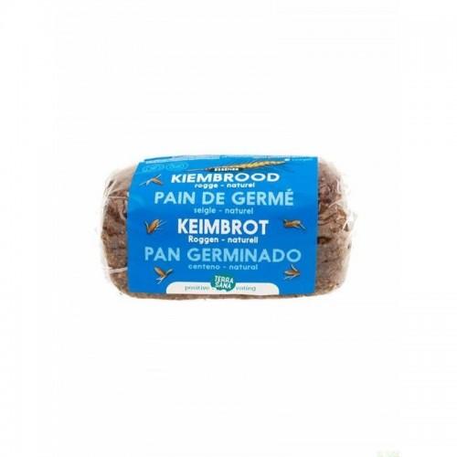 pan germinado centeno natural terrasana 400 gr bio