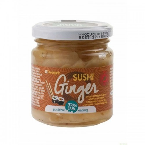 sushi jengibre terrasana 190 gr bio