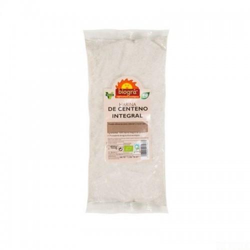 harina centeno integral biogra 500 gr