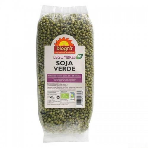 soja verde biogra 500 gr