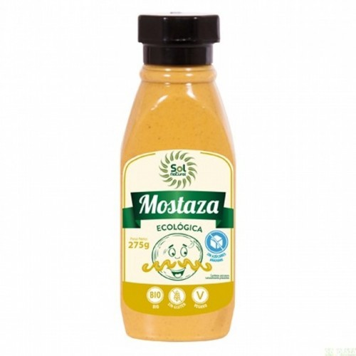 mostaza sol natural 275 gr bio