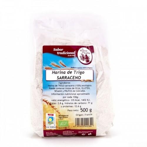 harina trigo sarraceno horno de leña 500 gr bio