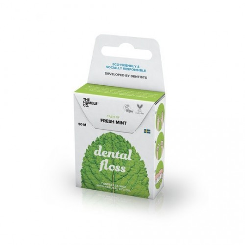 hilo dental menta xilitol humble brush 50 m