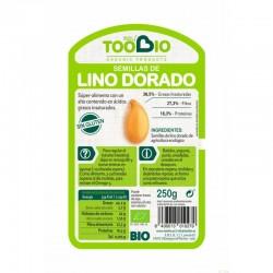 semilla lino dorado too bio 250 gr bio