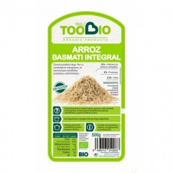 arroz basmati integral too bio 500 gr bio