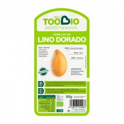 semilla lino dorado too bio 500 gr bio
