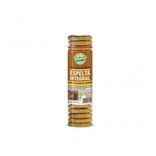 galleta espelta integral jengibre limon biocop 250 gr bio