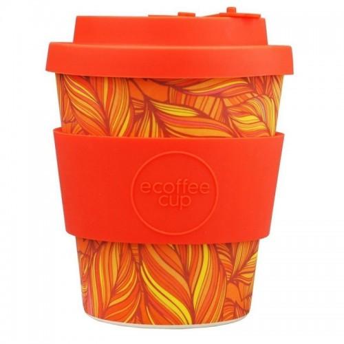 vaso de bambu singel plumas naranjas ref234 alternativa 3 240ml