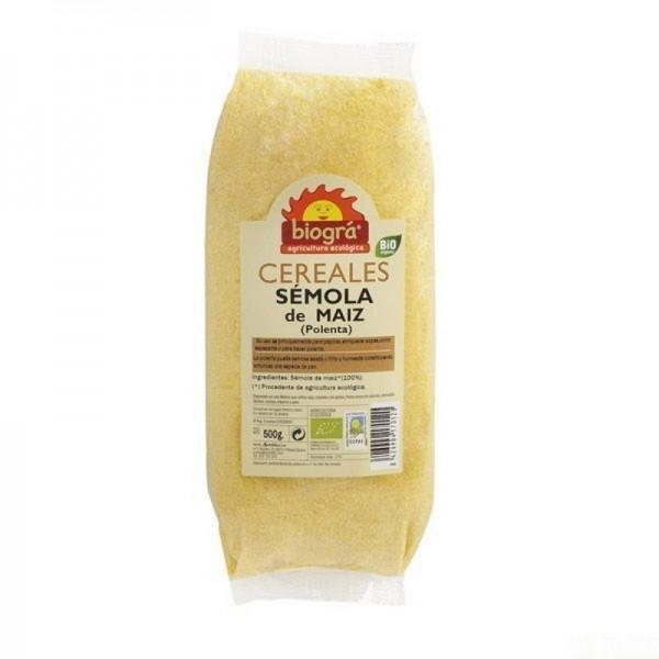 semola maiz polenta biogra 500 gr