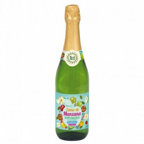 espumoso manzana sol natural 750 ml