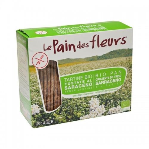 oferta pan flores trigo sarraceno 2x300 gr bio